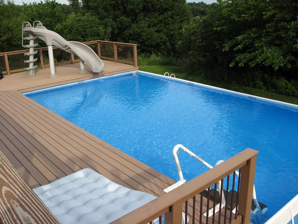 42 Above Ground Pools with Decks - Tips, Ideas & Design ...