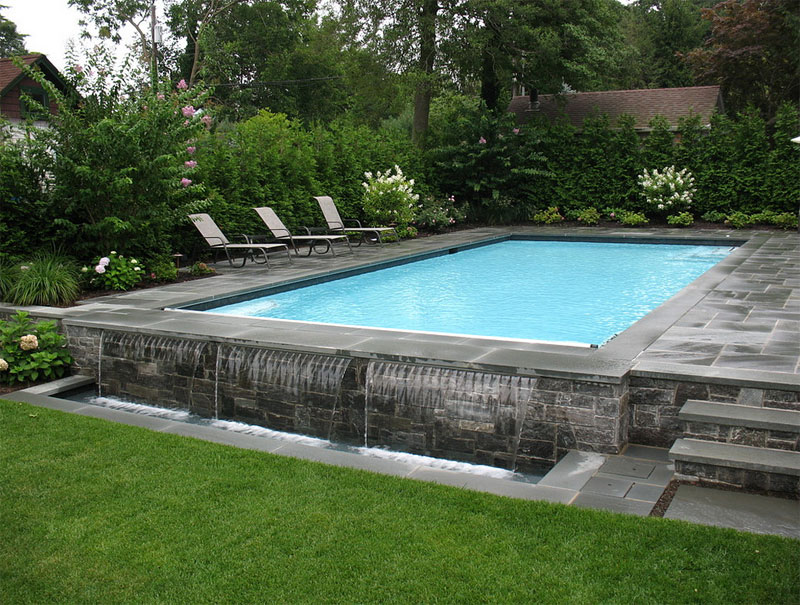 42 above ground pools with decks tips ideas design for Above ground pool setup ideas