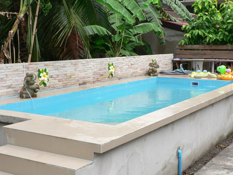 42 above ground pools with decks tips ideas design for Best looking above ground pools