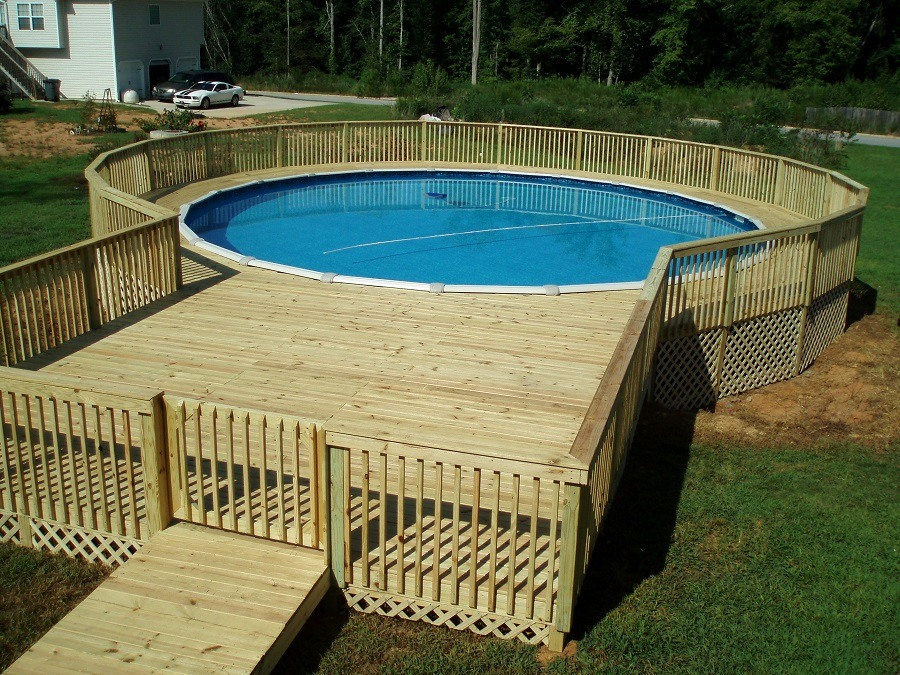 42 Above Ground Pools With Decks Tips Ideas Design