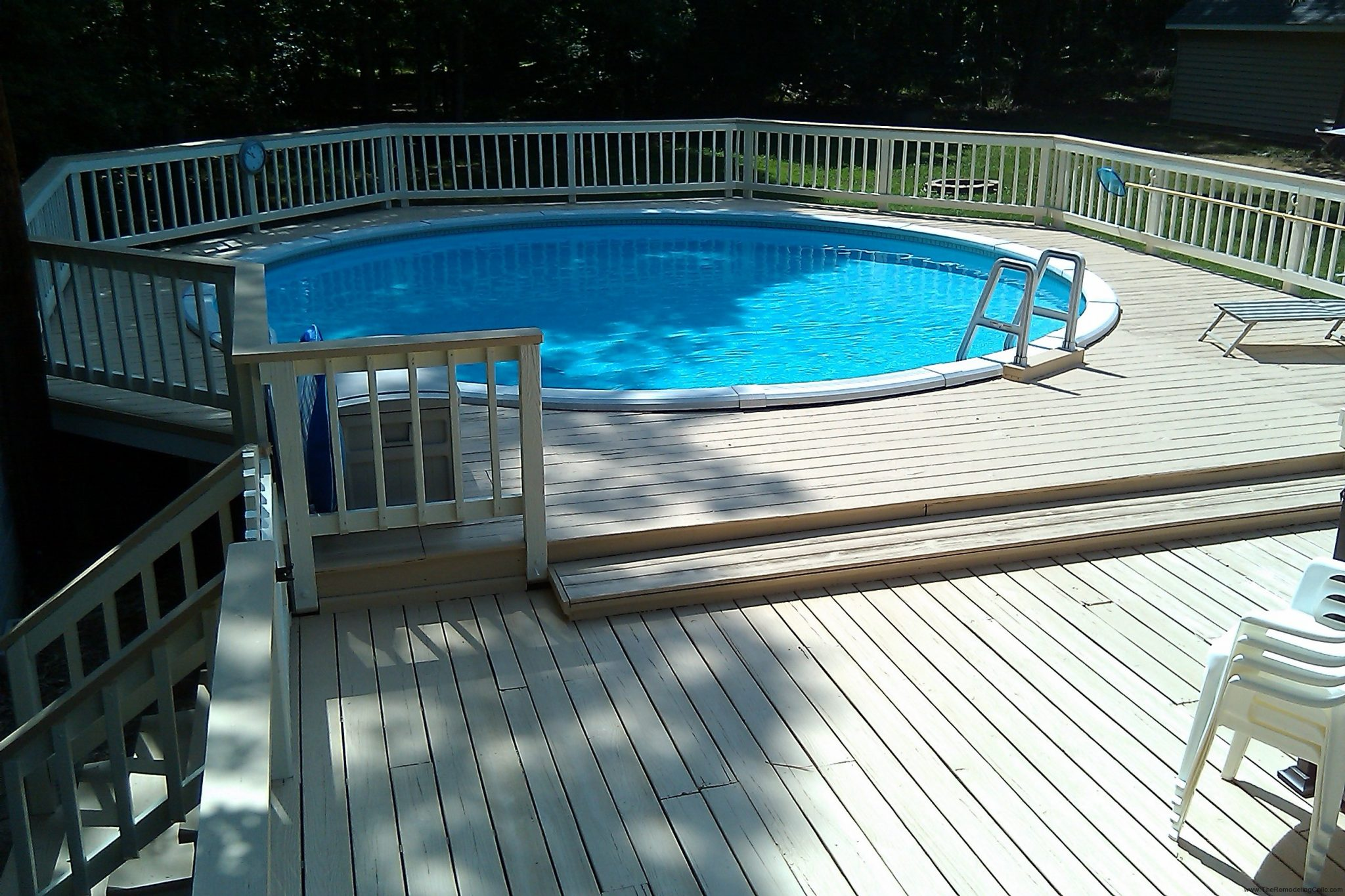 42 Above Ground Pools With Decks U2013 Tips, Ideas U0026 Design Inspiration    Outdoor Chief
