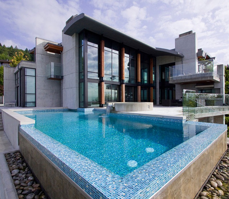 42 above ground pools with decks tips ideas design for Pool design vancouver