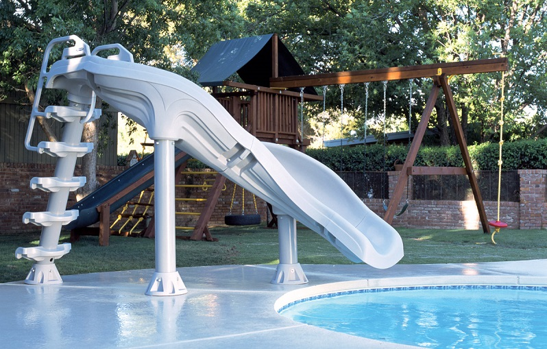 If you have teenage children and also want to get some use and excitement  from the slide yourself, you will probably want something ... - Top 5 Best Pool Slides For Backyard Water Fun - Outdoor Chief