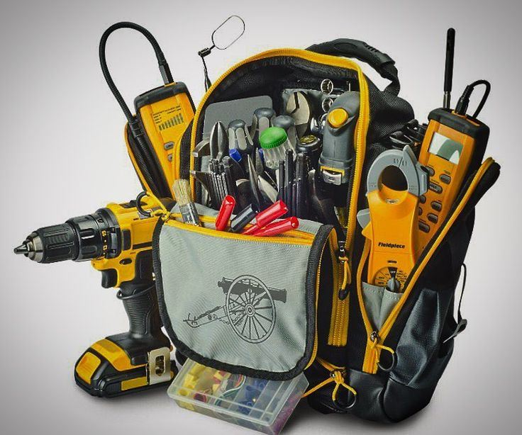 buying the best hvac tool bag (a 2018 review update) - outdoor chief