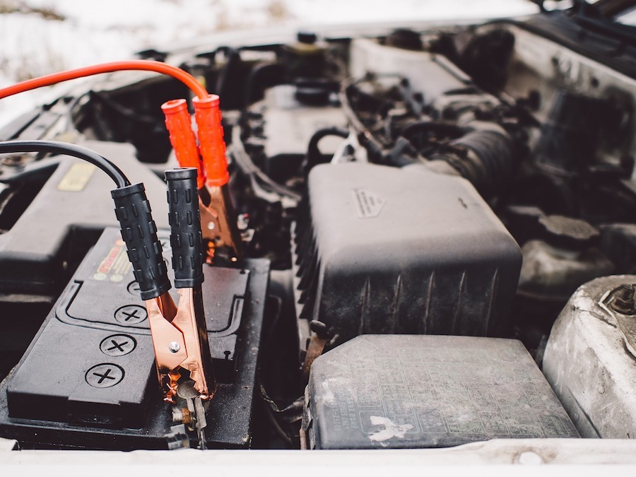 car battery jump starting