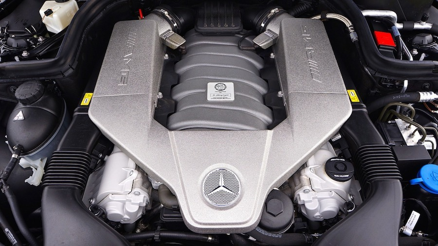 Mercedes engine