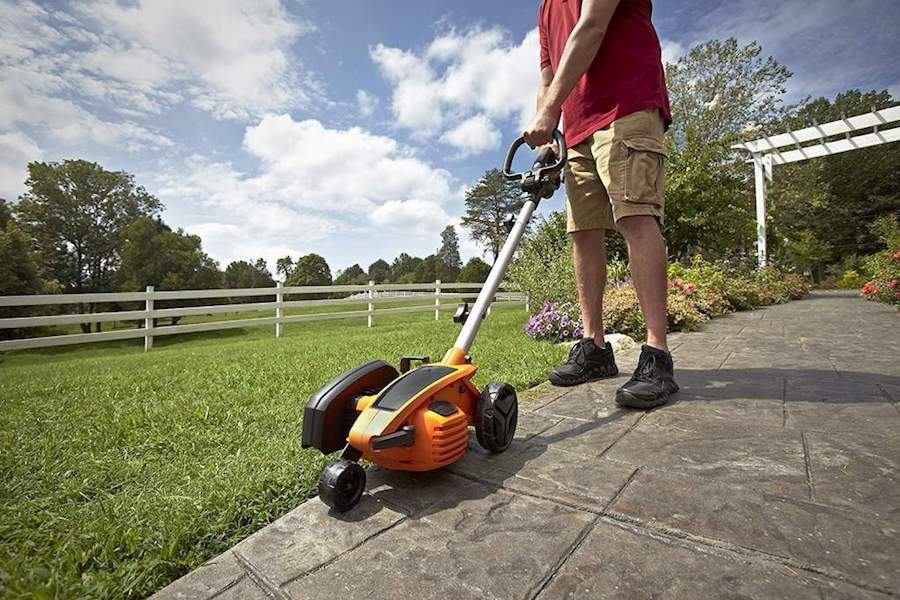 best electric lawn edger