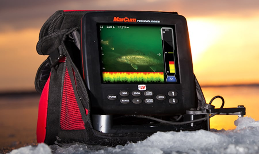marcum-ice fishing sonar