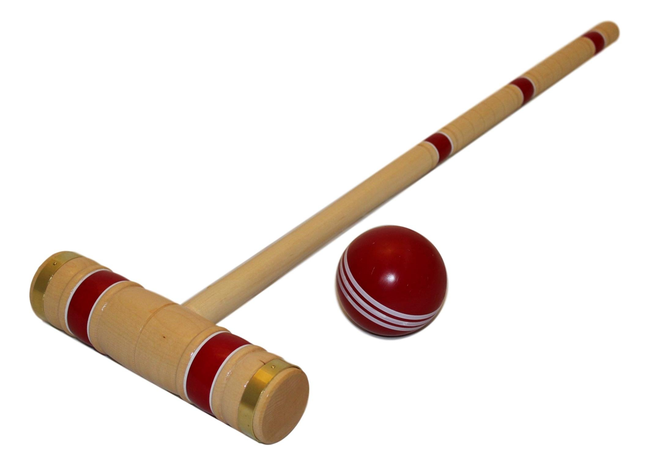 This Top Quality Croquet Set Helps Keep Your Organized Since It Comes With A Ready To Play Wooden Holder