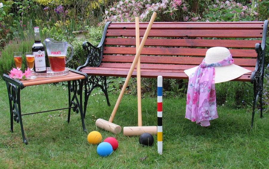 professional croquet set