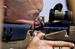 sniper and the .338 Lapua Magnum