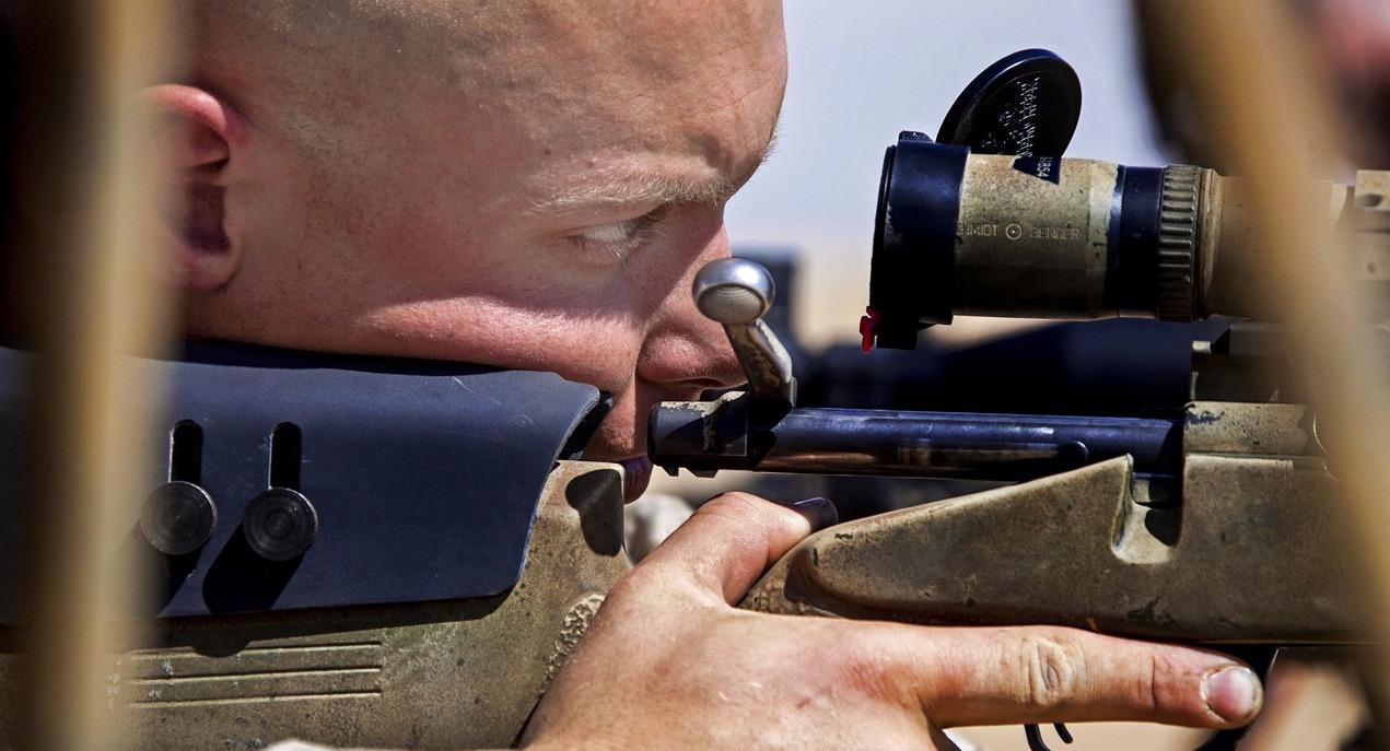 sniper and the .338 Lapua Magnum