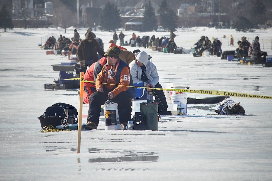 ice-fishing competition