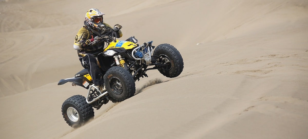 ATV on the side