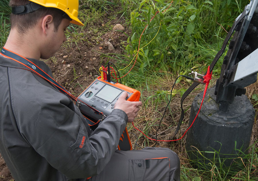 earth ground resistance testing