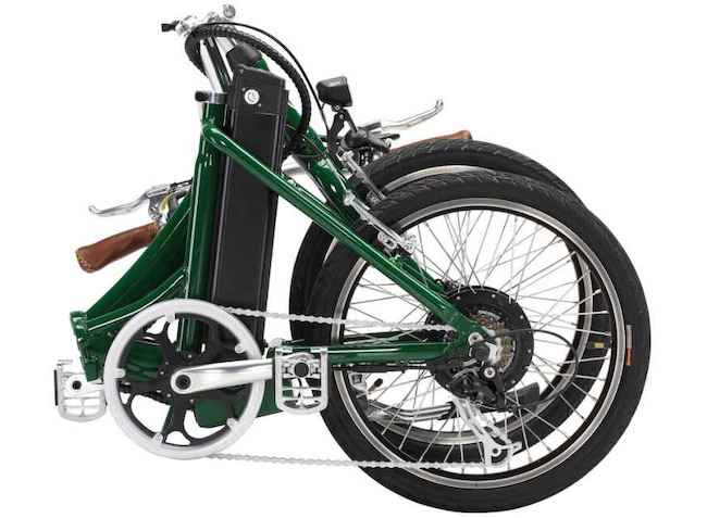 folded electric bike