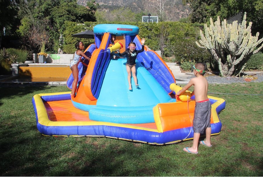 inflatable water slide guide