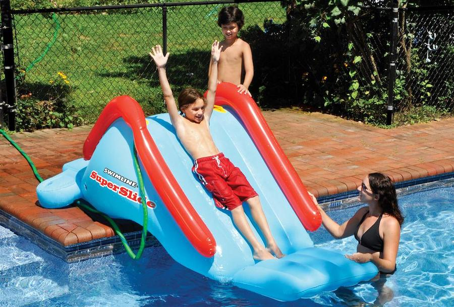 inflatable water slide small
