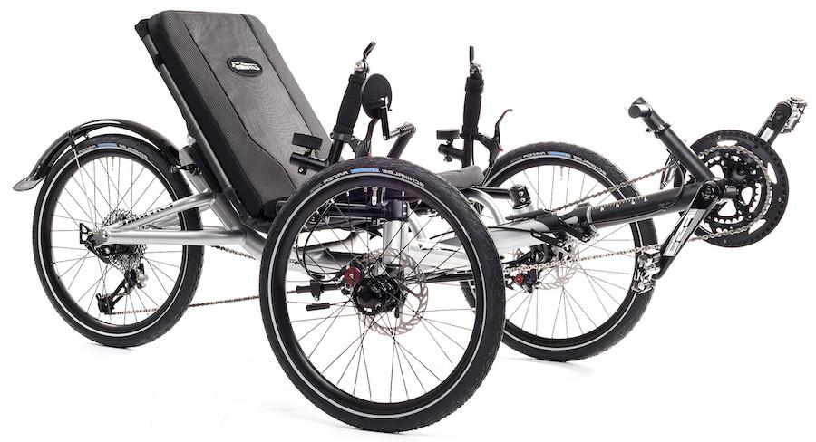recumbent bike gearing system