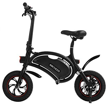 upright style electric bike