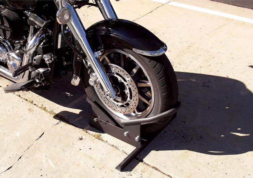 Extreme Max 5001.5010 Standard Motorcycle Wheel Chock