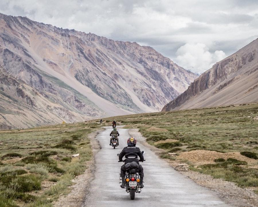 landscape motorcycles