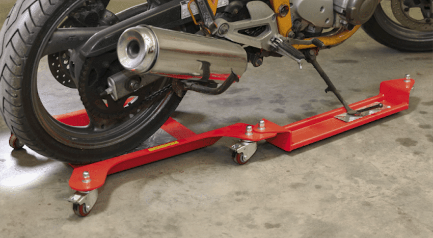 motorcycle adjustale dolly