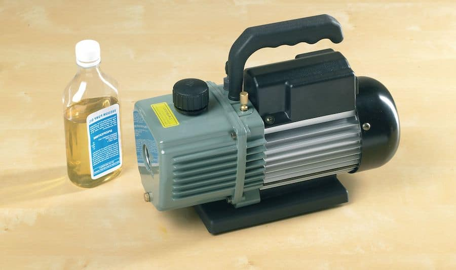 Cleanliness and vacuum pump hvac