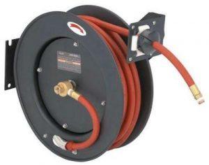 air hose reel guide