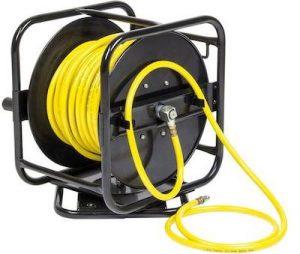 air hose reel yellow