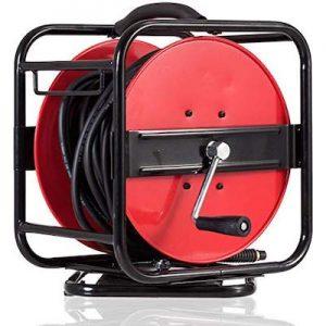 hand crank air hose reel