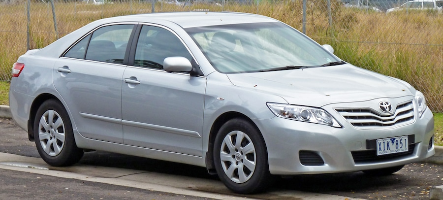 older 2009 Toyota Camry