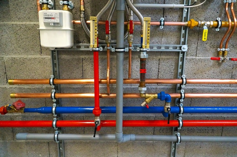 plumbing and pipes