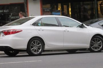 toyota camry tires and car
