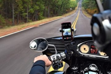 motorcycle intercom driving