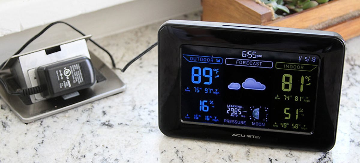 home weather station featured