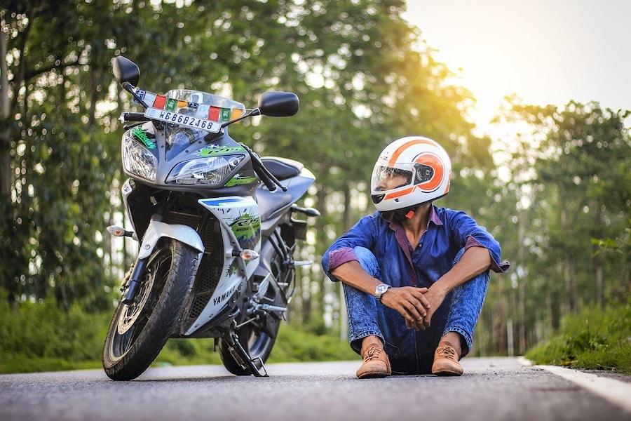 motorcylce rider