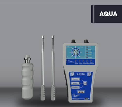 MWF Aqua Long Range Underground Water Detector - Professional Groundwater Detection System - Identify All Types of Water
