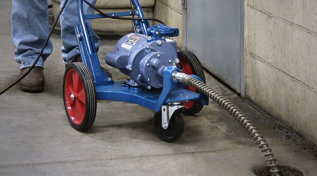 best commercial drain cleaning machine featured