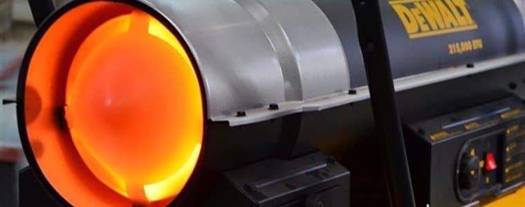 forced air kerosene heater featured