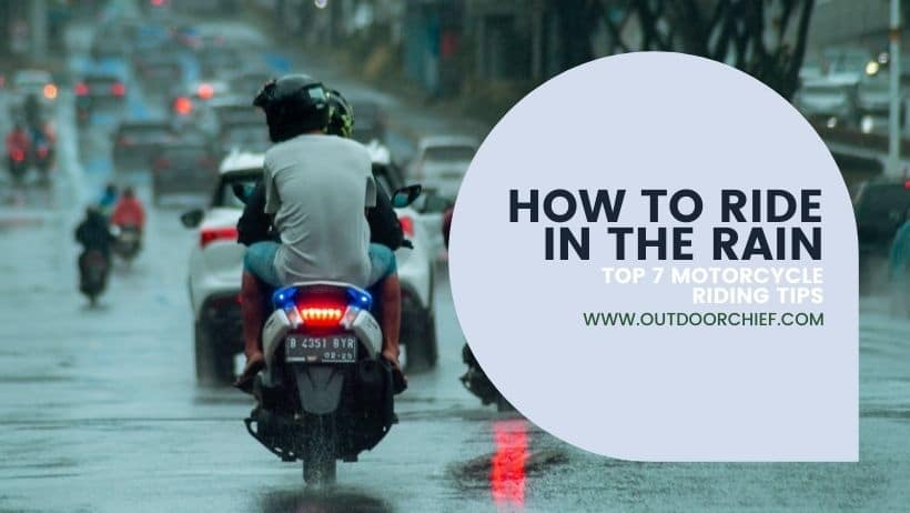 how to ride in the rain