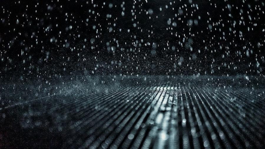 wet shiny surface